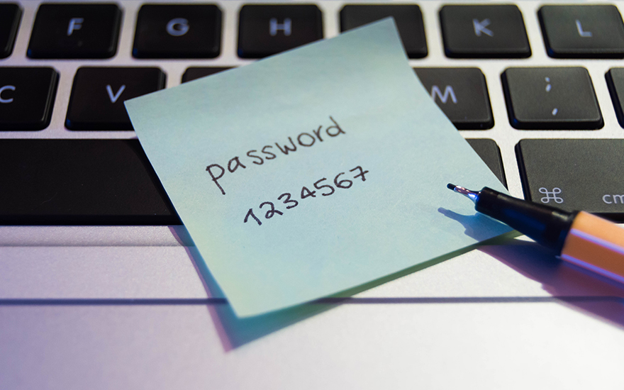onveilig wachtwoord